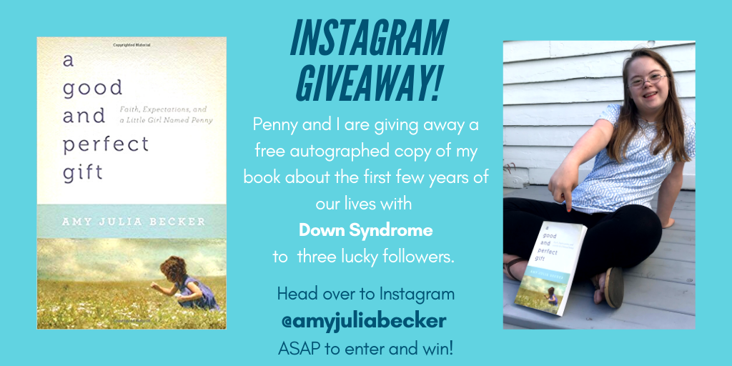 A New Meaning of Perfection & Book Giveaway