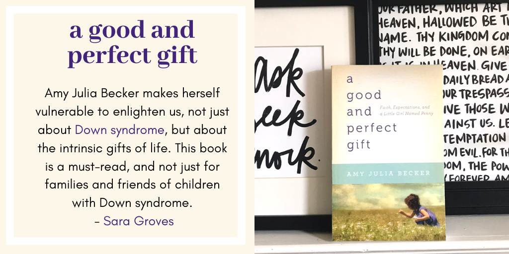Sara Groves Endorses A Good and Perfect Gift
