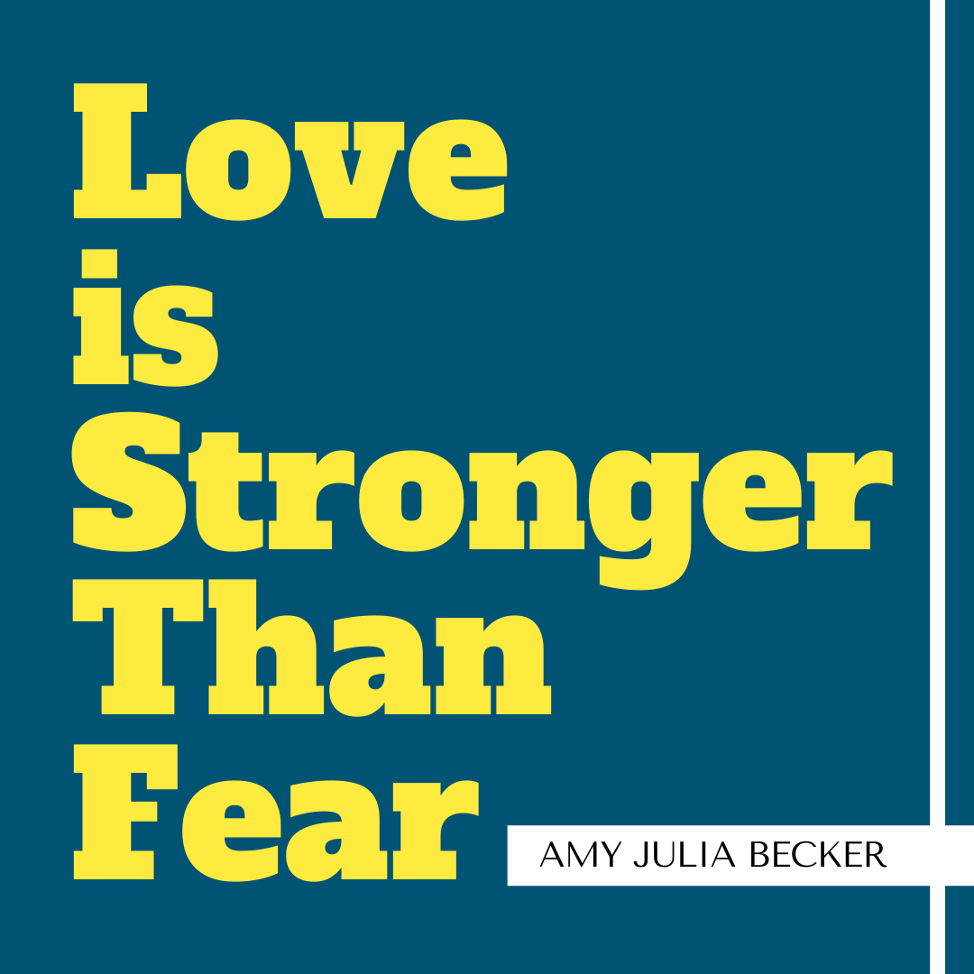 Announcing Love is Stronger Than Fear Podcast