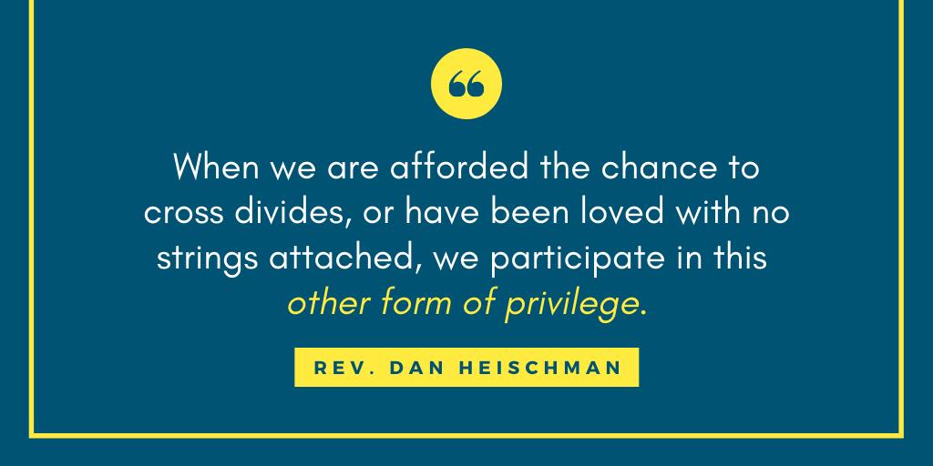 Rev. Dan Heischman Reflects on Privilege in Episcopal Schools