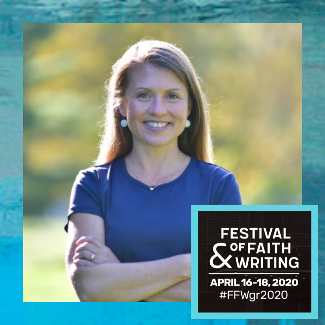 Speaking at the Festival of Faith & Writing