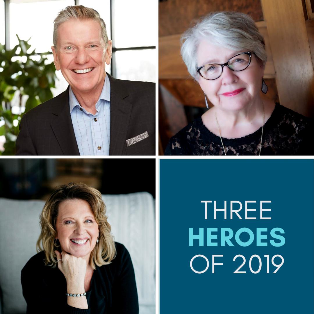 Three Heroes of 2019