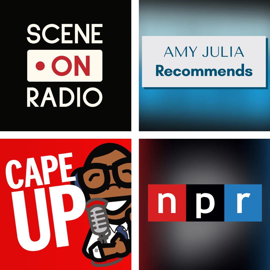 Amy Julia Recommends: Privilege and Race Podcasts