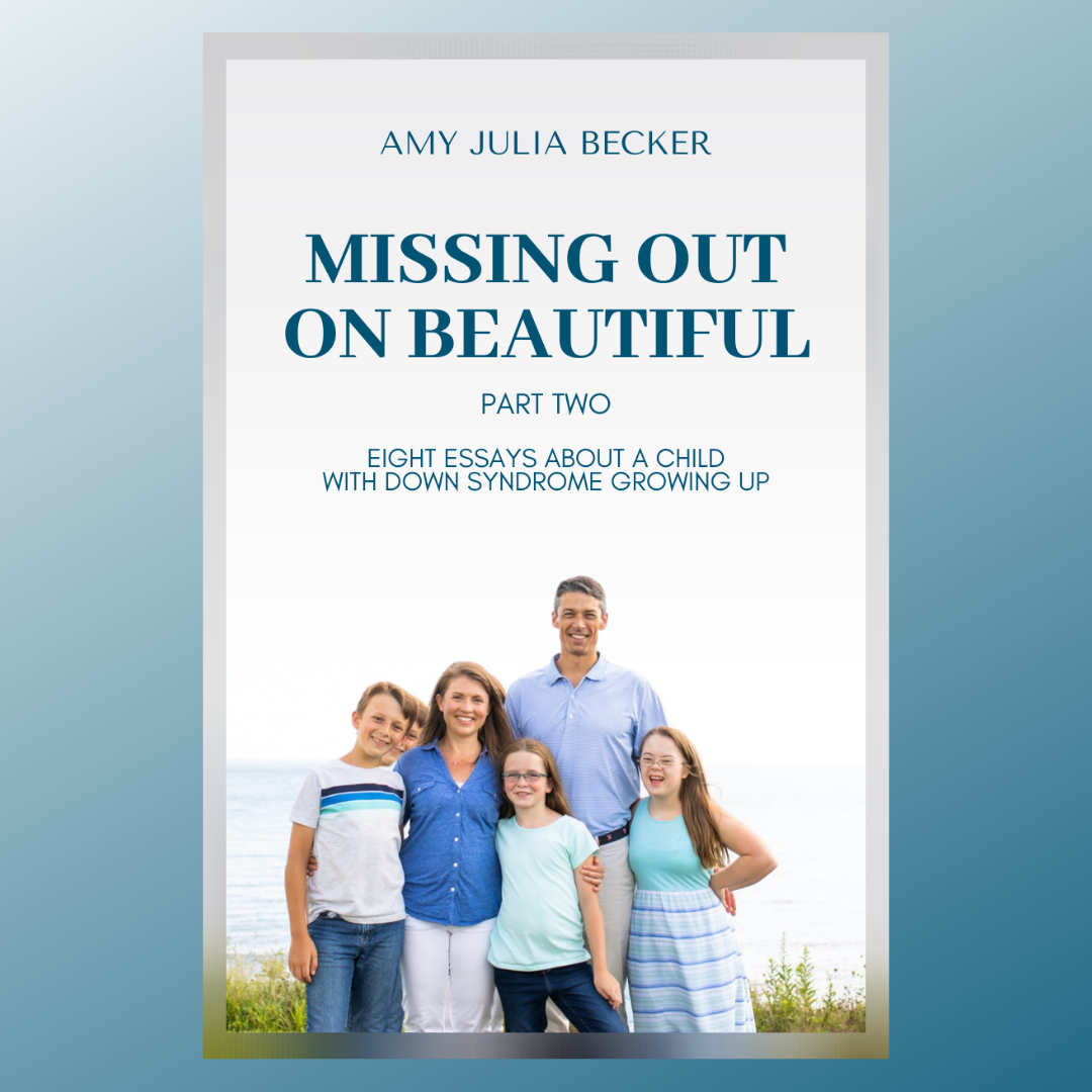 Announcing Missing Out on Beautiful, Part Two
