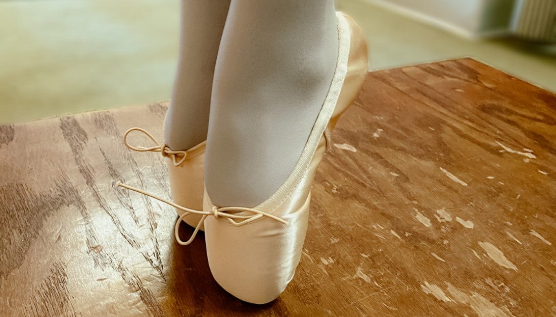 pointe shoes and perseverance