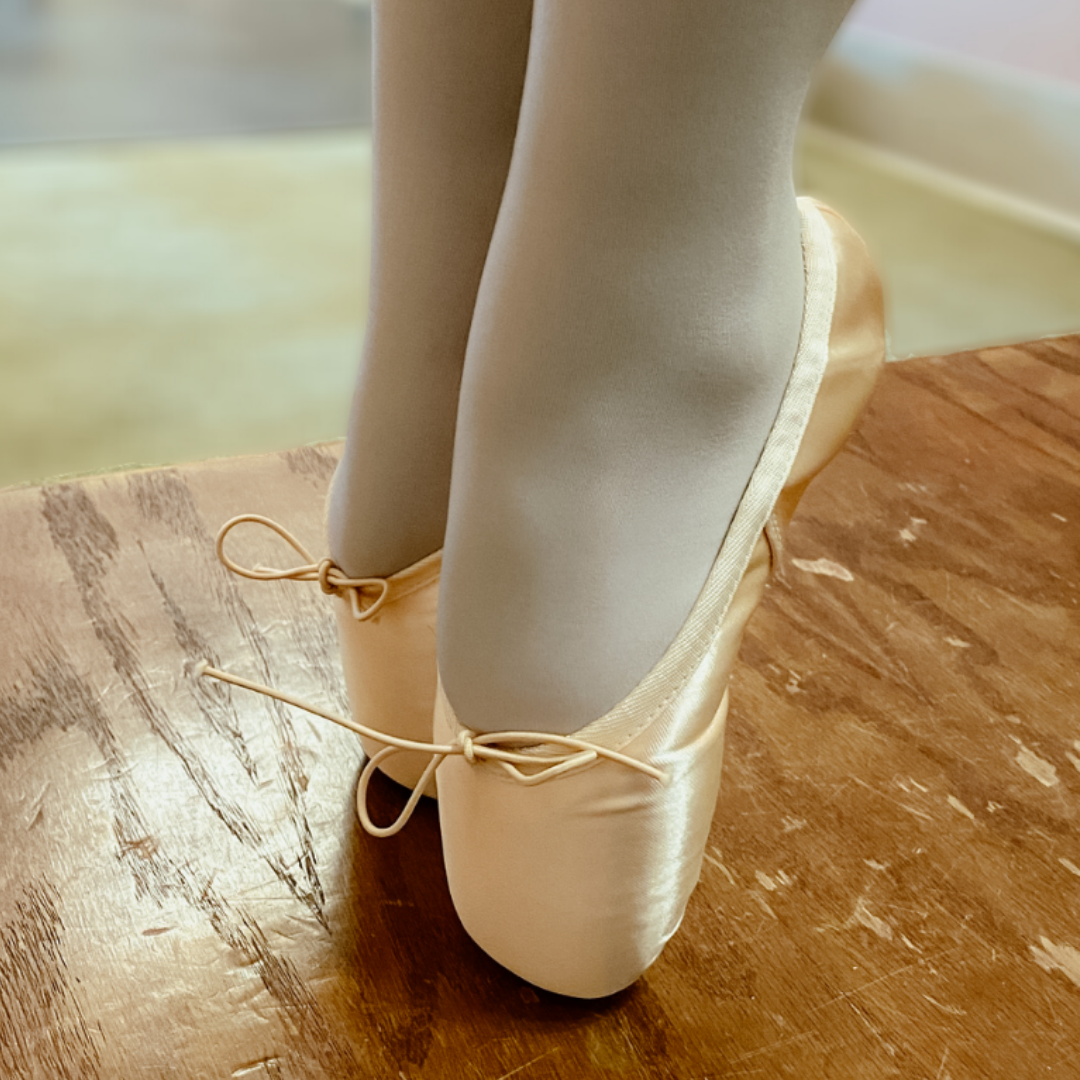 Pointe Shoes and Developing Perseverance