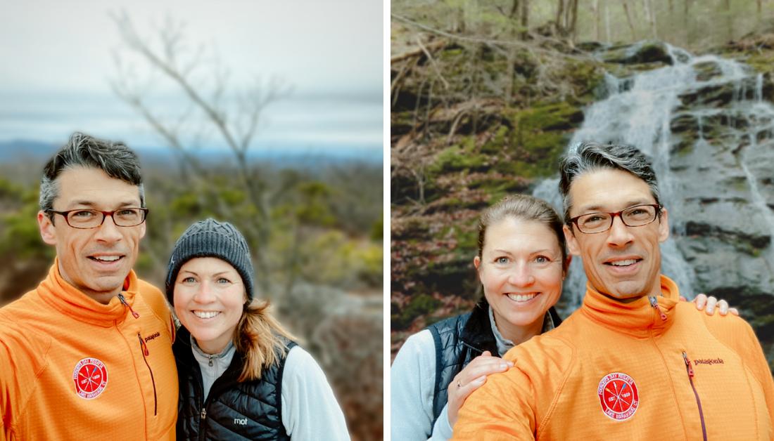 hike at Race Brook Falls