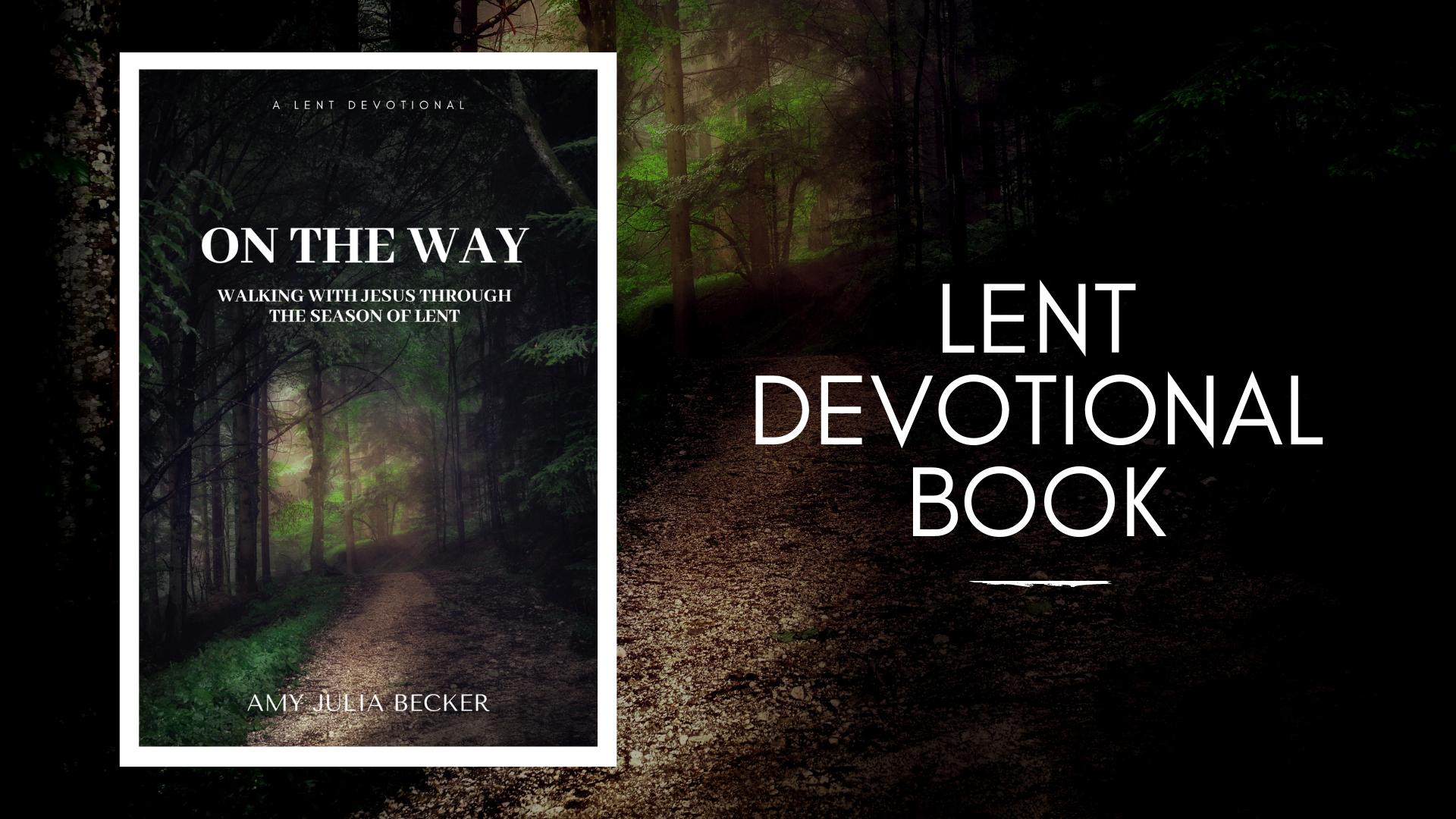 Lent devotional book