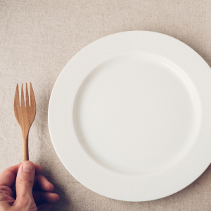 fasting from food