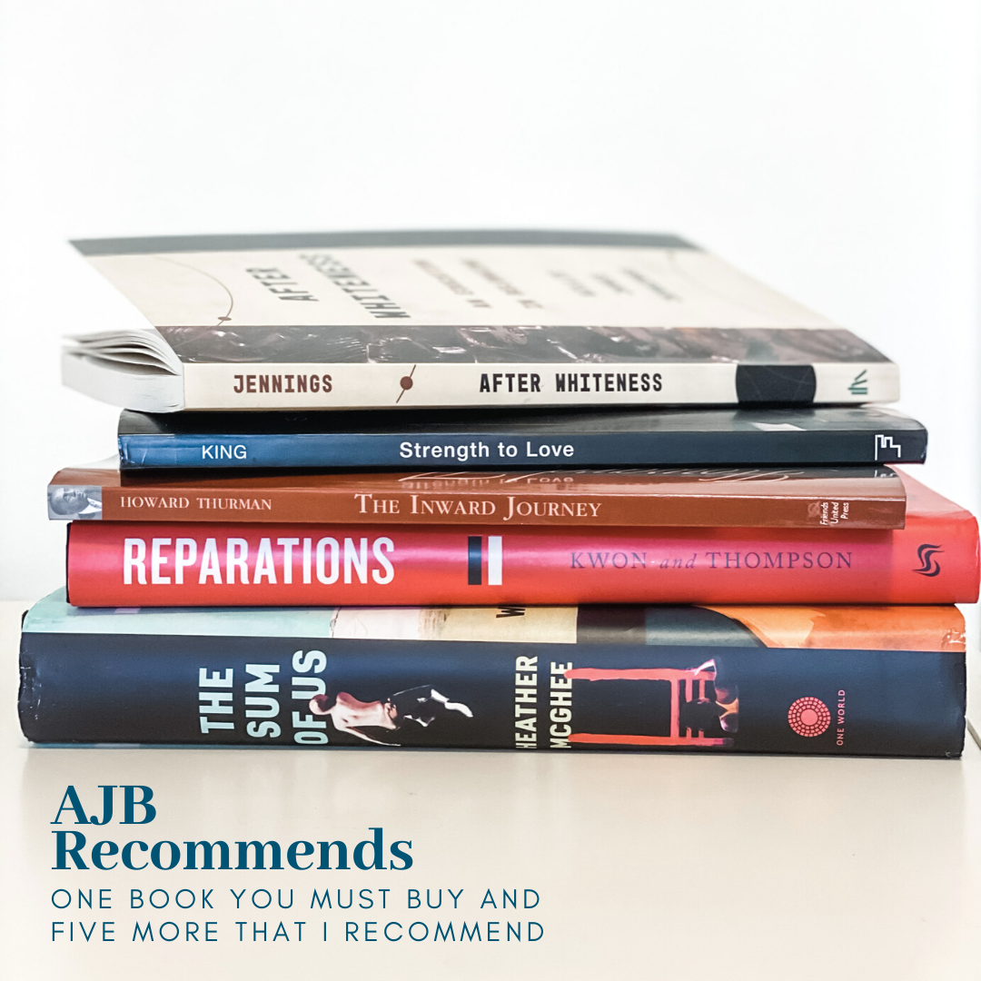 AJB Recommends: One Book You Must Read, and Five More That I Recommend