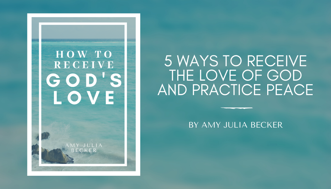 how to receive God's love PDF resource