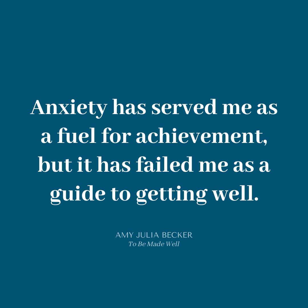 Read more about the article Anxiety Is Fuel for Achievement