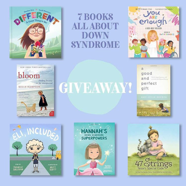Read more about the article Giveaway! Books About Down Syndrome