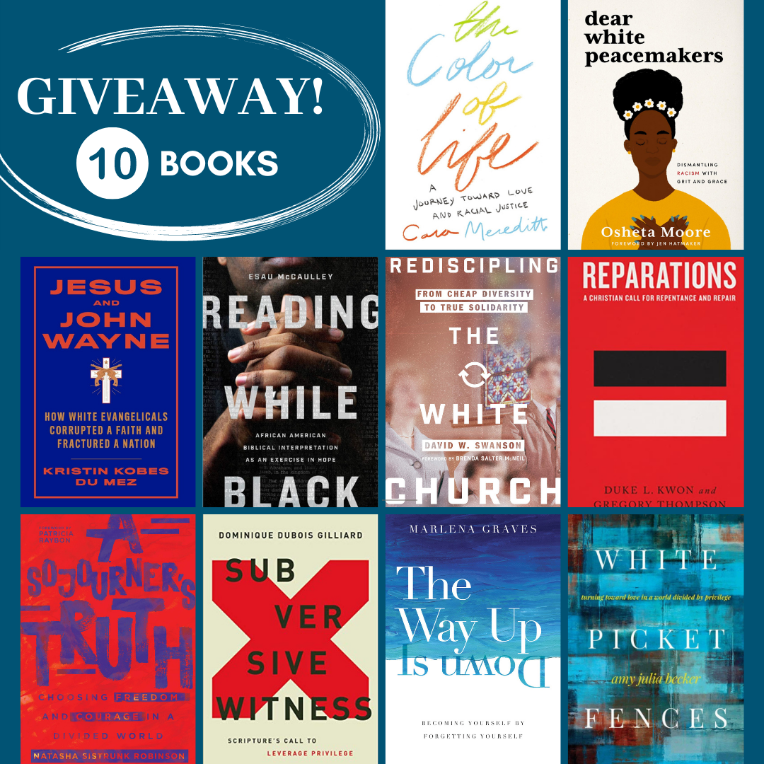 Read more about the article Ten-Book Giveaway: Racism, Privilege, Social Healing, and Faith