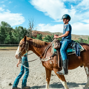 the miscellaneous life of a parent - watching your son ride a horse